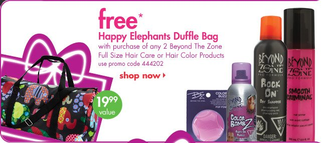 free* Happy Elephants Duffle Bag