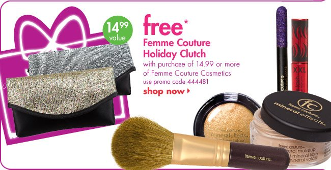 free* Femme Couture Holiday Clutch
