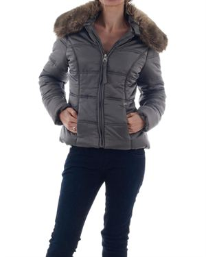 Winter Warm-up: Miss Sixty Fur Collar Jacket