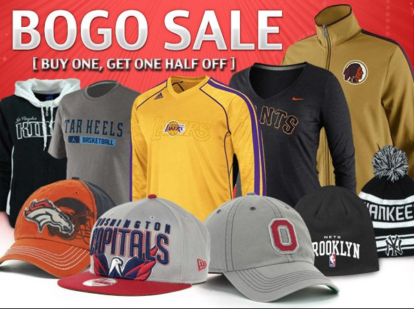 Bogo Sale Plus - 100's of new items added today!