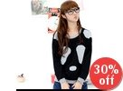 Panda Patch Top