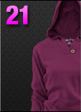 Soffe Chic Pullover Hoodie