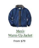 Men's Warm-Up Jacket, from $79