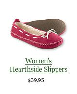 Women's Hearthside Slippers, $39.95