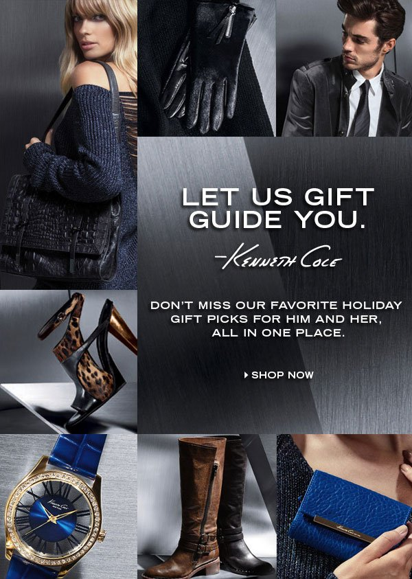 LET US GIFT GUIDE YOU