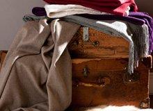 Soft & Bundle-Worthy Blankets, Bathrobes, & More