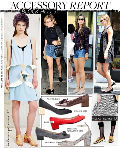 Accessory Report: Block Heels