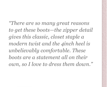 There are so many great reasons to get these boots.