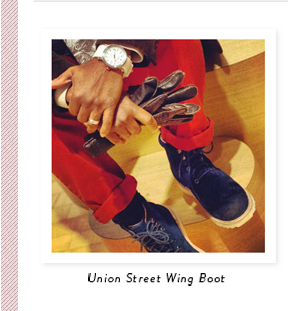Union Street Wing Boot