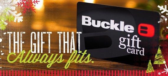 Shop Buckle Gift Card