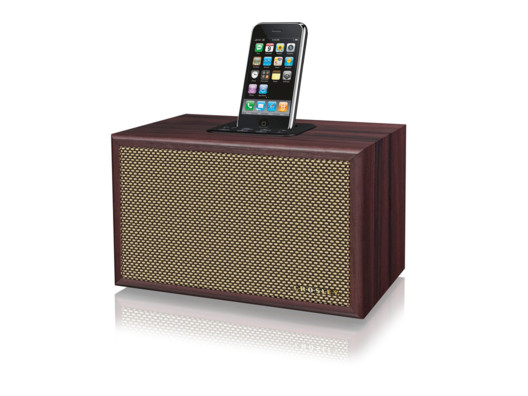 This speaker has old-school charm with new-age sound.
