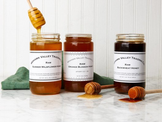 Not only do we use raw honeys from Mohawk Valley Trading Company at Craftbar, 'wichcraft, and Colicchio & Sons, but I keep a jar of the stuff on my desk at all times.