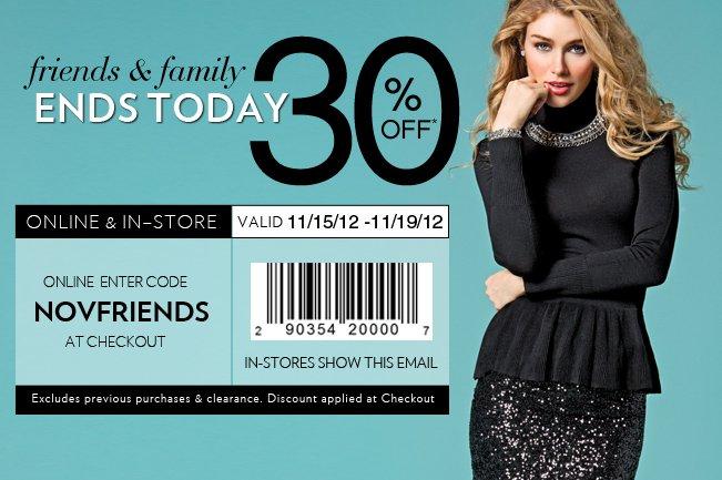 Shop 30% OFF Site-Wide!