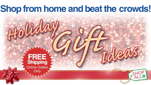 Shop from home and beat the crowds! Holiday Gift Ideas!