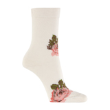 Paul Smith Socks - Cream Tapestry Floral Socks