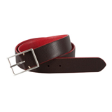 Paul Smith Belts - Brown And Red Reversible Belt