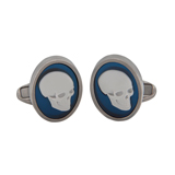 Paul Smith Cufflinks - Silver Skull Cufflinks