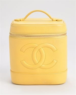 Chanel LU Caviar Genuine Leather Cosmetic Bag $499