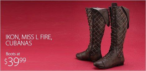 Ikon, Miss L Fire, Cubanas