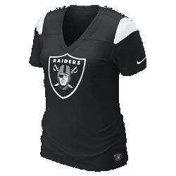 Nike Fashion V-Neck (NFL Raiders) Women's T-Shirt