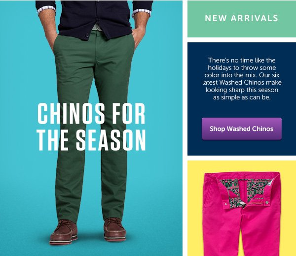 Chinos for the Season
