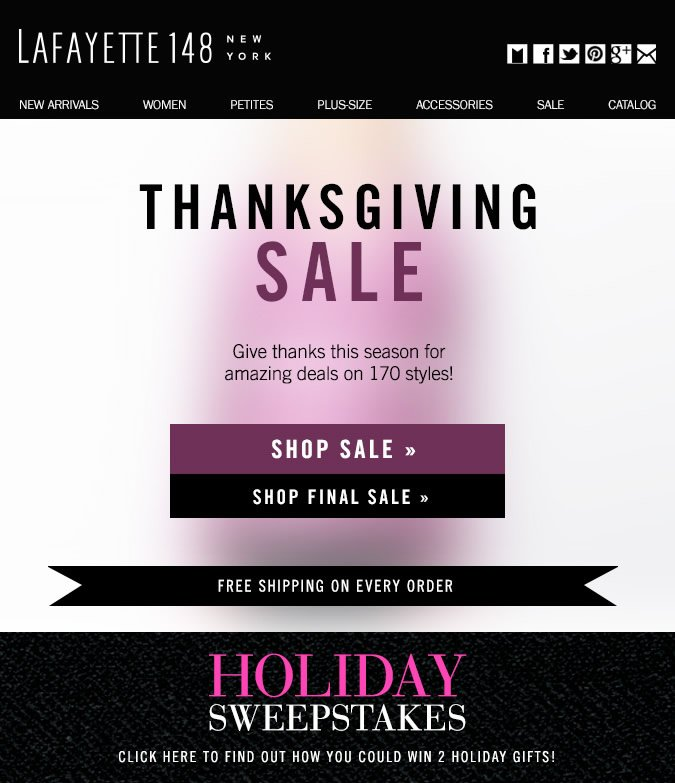 Give Thanks: New Markdowns on 170 Styles