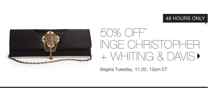 50% Off* Designer Handbags...Shop Now