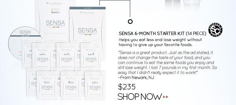 Shopper's Choice: SENSA 6-Month Starter Kit