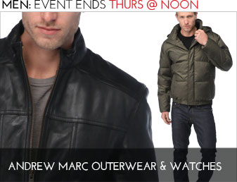 ANDREW MARC - MEN'S OUTERWEAR & WATCHES