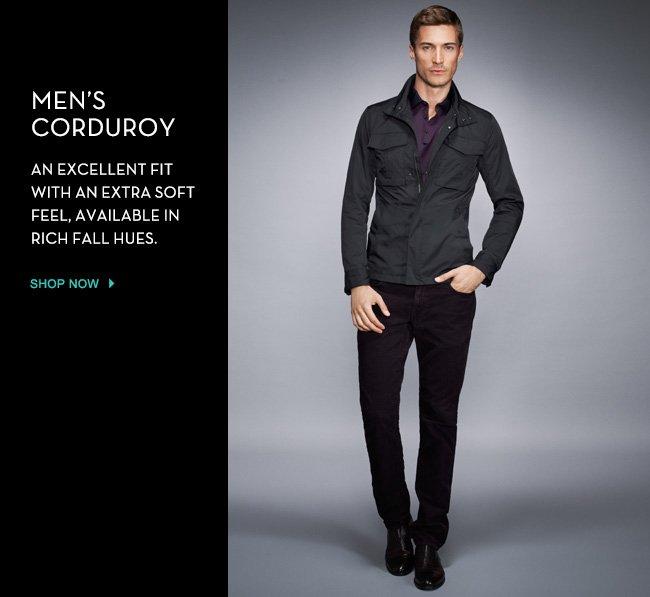men's corduroy
