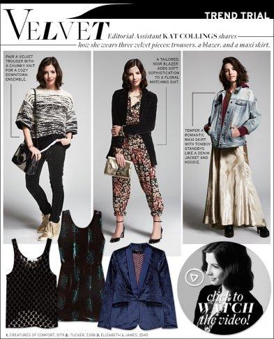 Trend Trial: Velvet