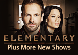 Elementary - Plus More New Shows