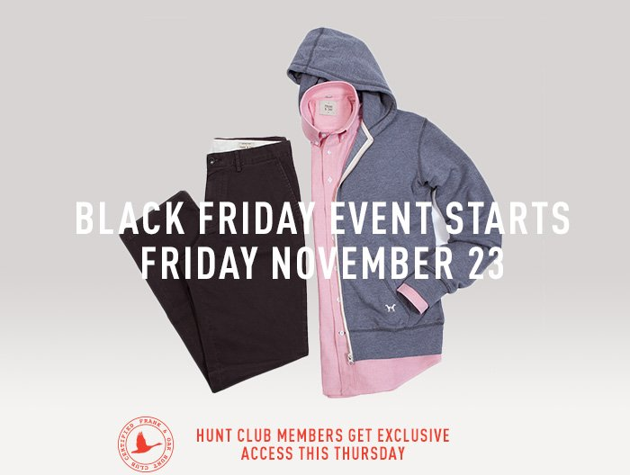 Gear up with the F&O black friday event