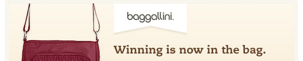 Winning is now in the bag.
