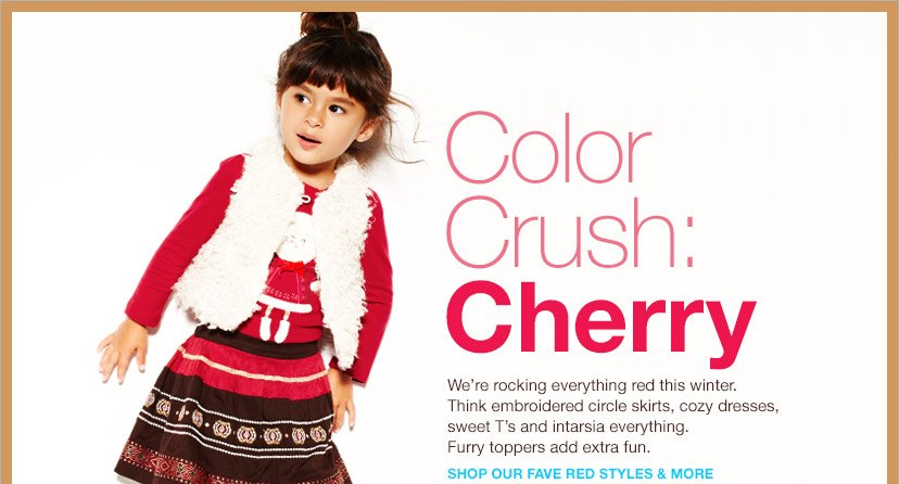 Color Crush: Cherry | SHOP OUR FAVE RED STYLES & MORE
