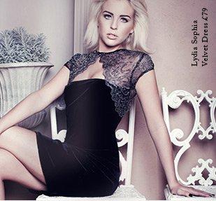 Sophia Velvet Dress
