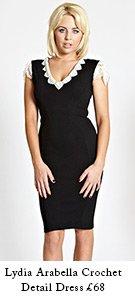 Lydia Arabella Crochet Detail Dress