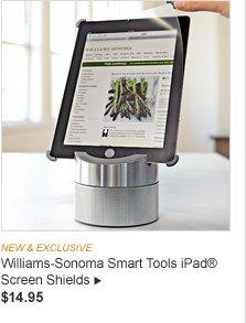 Williams-Sonoma Smart Tools iPad R Screen Shields -- $14.95