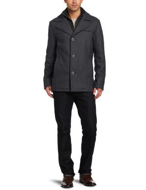 Kenneth Cole <br/>Melton Pea Coat