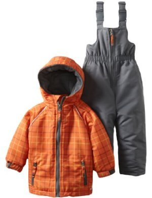 Rugged Bear <br/> Snowsuit Plaid Jacket