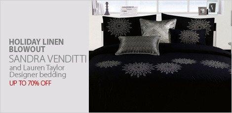 Designer bedding from Sandra Venditti & Lauren Taylor