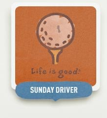 Sunday Driver - Shop our Golf & Tennis Themed Tees
