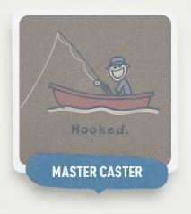 Master Caster - Shop our Fishing Themed Tees