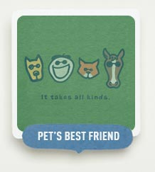 Pet's Best Friend - Shop our Animal Themed Tees