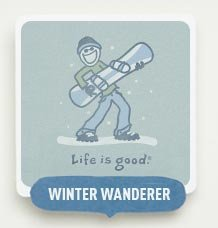 Winter Wanderer - Shop our Snowsports Themed Tees