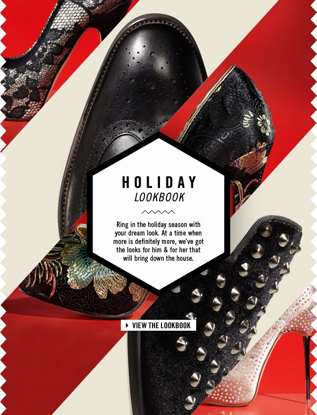 HOLIDAY LOOKBOOK - www.aldoshoes.com/us