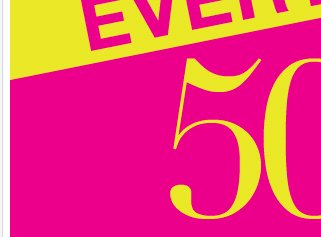 Starting Tomorrow: EVERYTHING 50% to 70% Off!