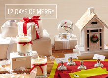 The 12 Days of Merry Kate's Verbena Hostess Gifts
