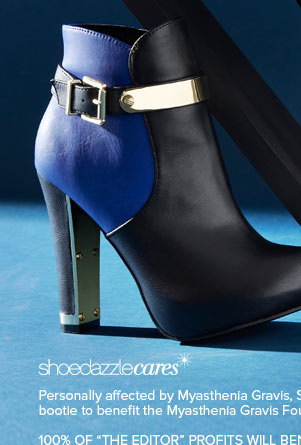 Get The Editor, a Limited-Edition Bootie That Benefits - Shop Now