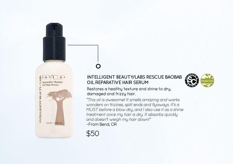 Intelligent Beauty/Labs Rescue Baobab Oil Reparative Hair Serum